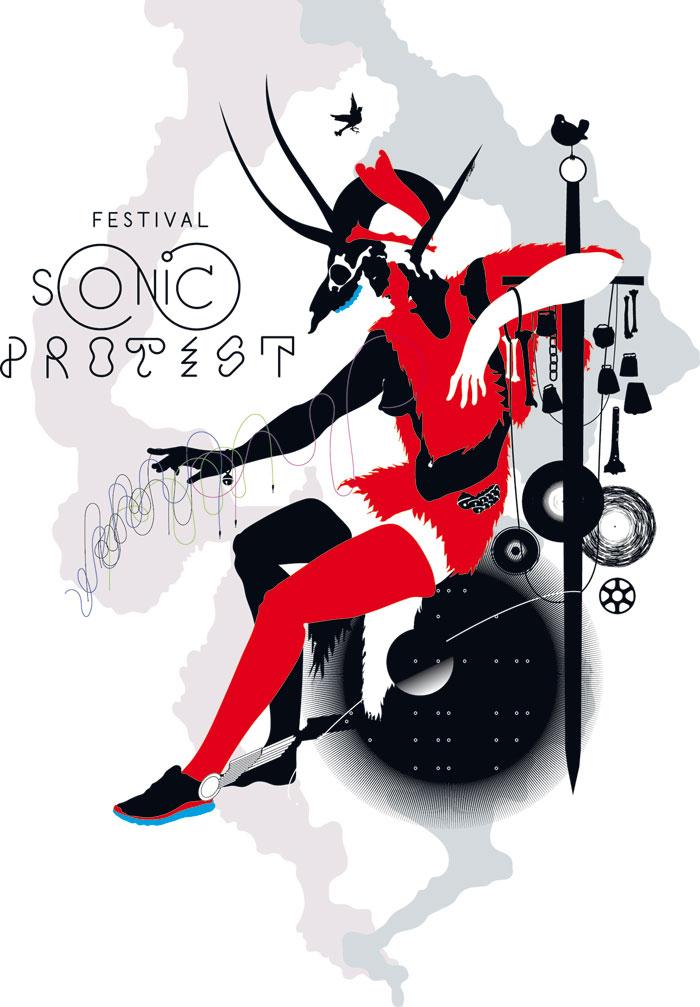 logo festival sonic protest